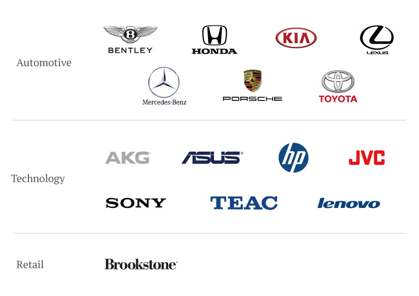 OEM/ODM Clients